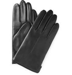 A.P.C. Wool-Lined Leather Gloves