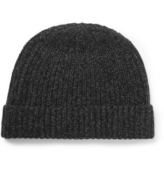 A.P.C. Mélange Wool and Cashmere-Blend Beanie