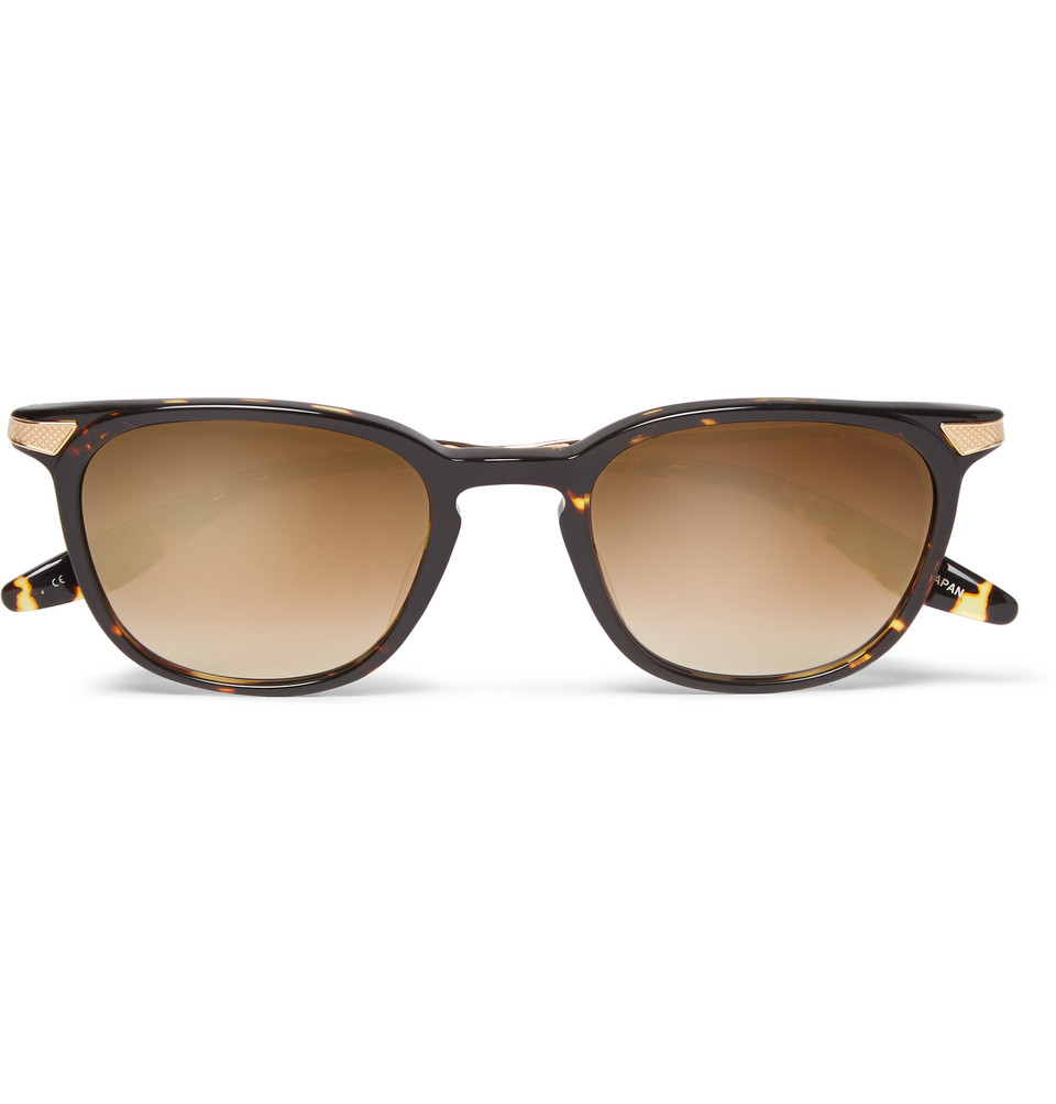 Dean Square Frame Tortoiseshell Sunglasses Brown