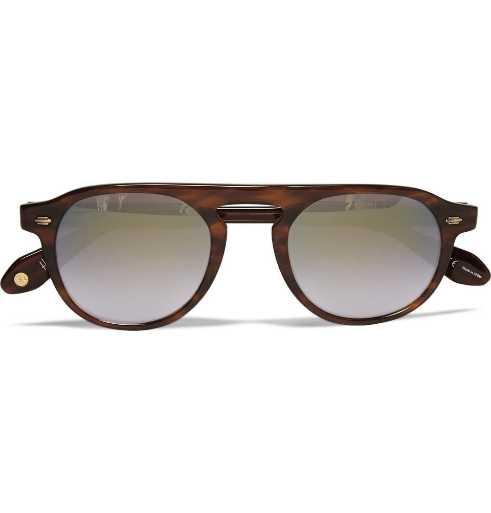 Harding D Frame Acetate Sunglasses Tortoiseshell