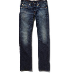 RRL - Henderson Slim-Fit Washed Selvedge Denim Jeans