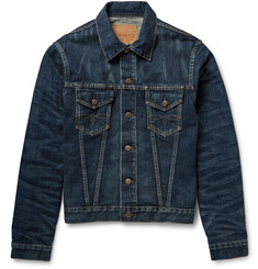 RRL Washed-Denim Jacket