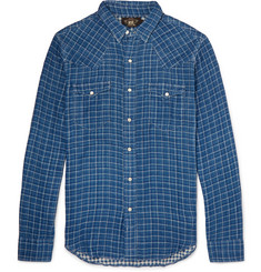 RRL Slim-Fit Checked Cotton Shirt
