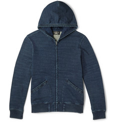RRL Washed Cotton-Jersey Hoodie