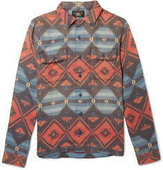 RRL Beacon Cotton-Jacquard Shirt