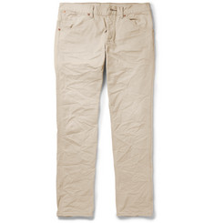 RRL Ranch Hand Slim-Fit Distressed Cotton-Twill Jeans
