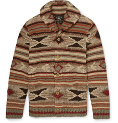 RRL Wool, Linen, Silk and Cotton-Blend Cardigan