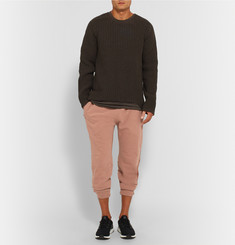 Yeezy x Adidas Originals Loopback Stretch-Cotton Jersey Sweatpants