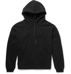 Yeezy x Adidas Originals Half-Zip Loopback Stretch-Cotton Jersey Hoodie