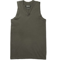 Yeezy x Adidas Originals Cotton-Jersey Vest