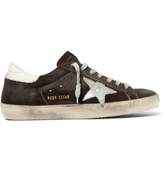 Golden Goose Deluxe Brand Superstar Suede Sneakers