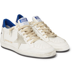 Golden Goose Deluxe Brand - Ball Star Distressed Leather Sneakers