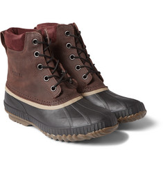 Sorel - Cheyanne Leather and Rubber Boots
