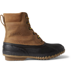 Sorel Cheyanne Leather and Rubber Boots