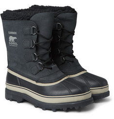 Sorel - Caribou Nubuck and Rubber Snow Boots
