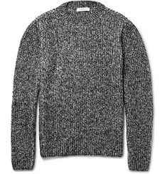 Sandro Mélange Ribbed-Knit Sweater