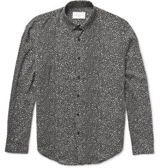 Sandro Slim-Fit Printed Woven Shirt