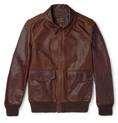 Schott A2 Leather Flight Jacket