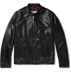 Schott Café Racer Leather Jacket