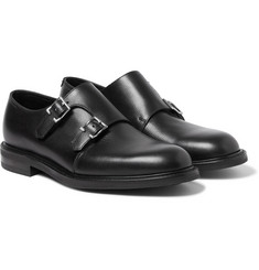 John Lobb Morval Full-Grain Leather Monk-Strap Shoes