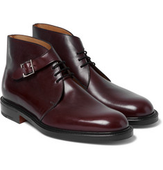 John Lobb - Combe Buckled Leather Boots