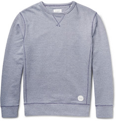 Saturdays NYC Bowery Knitted Loopback Cotton Sweatshirt