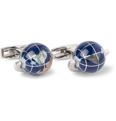TATEOSSIAN Sterling Silver Multi-Stone Cufflinks
