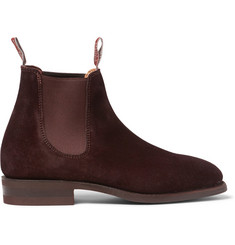 R.M. Williams Suede Chelsea Boots