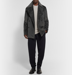 Bottega Veneta Cotton-Corduroy Double-Breasted Jacket