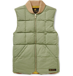 Neighborhood Quilted Cotton-Twill Down Gilet