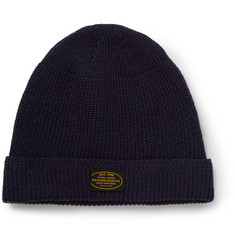 Neighborhood Ribbed Wool Beanie