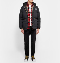 Neighborhood - Hooded Canvas Down Jacket