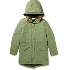 Remi Relief Padded Cotton-Twill Parka