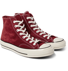 Converse - 1970s Chuck Taylor All Star Suede High-Top Sneakers