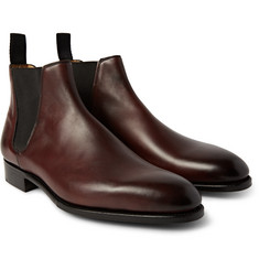 Edward Green Camden Burnished-Leather Chelsea Boots