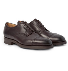 Edward Green - Cardiff Cap-Toe Leather Brogues