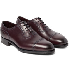 Edward Green - Canterbury Adelaide-Cut Leather Oxford Brogues