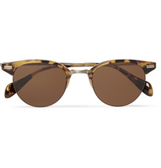 Oliver Peoples Tortoiseshell Acetate Sunglasses