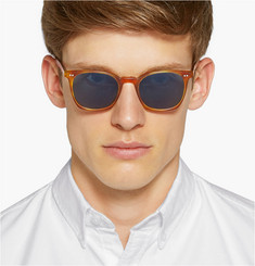 Oliver Peoples L.A. Coen Square-Frame Acetate Sunglasses