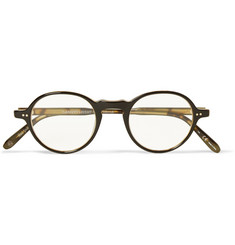 Garrett Leight California Optical Coeur D'Alene Round-Frame Acetate Optical Glasses
