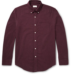 Club Monaco Button-Down Collar Cotton-Flannel Shirt