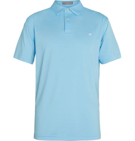 Peter millar solid stretch jersey golf polo shirt for Peter millar golf shirts