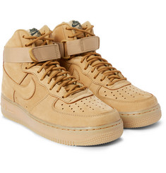 Nike Air Force 1 07 LV8 Nubuck High-Top Sneakers