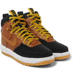 Nike - Lunar Force 1 Duckboot Leather Sneakers