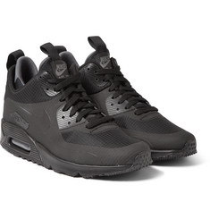 Nike - Air Max 90 Mid Winter Leather and Mesh Sneakers
