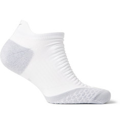 Nike - Elite Cushioned Dri-FIT Stretch-Jersey Running Socks