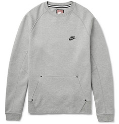 Nike Cotton-Blend Tech-Fleece Sweatshirt
