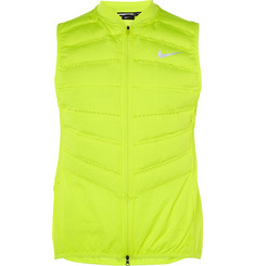 Nike Running Aeroloft 800 Quilted Shell Down Gilet