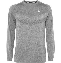 Nike Running - Mélange Dri-FIT Jersey Top