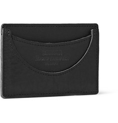 Shinola Black Leather Cardholder